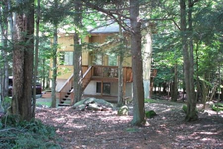 Affordable Pocono Getaway - Lake - Hus