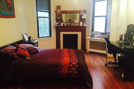 Large Private Room in DC Row House