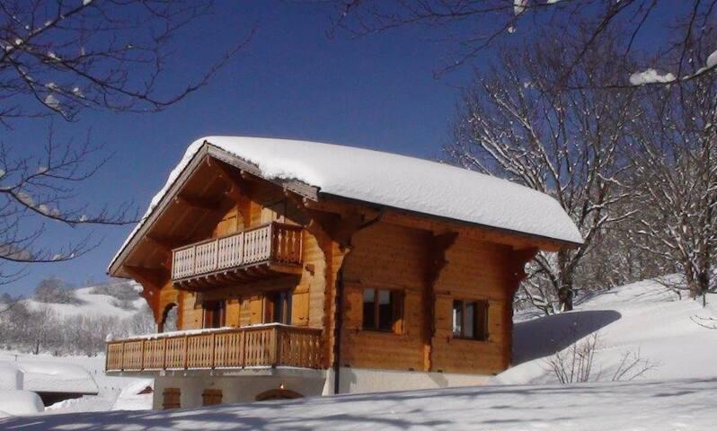 Chalet traditionnel Haute-Savoie