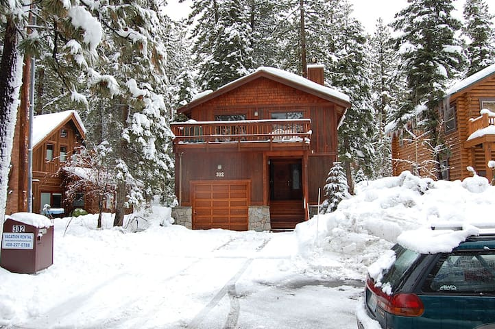 Agatam Lodge, 10 Min. to Ski, 1 Blk to Dine & Lake - Tahoe Vista - Hus