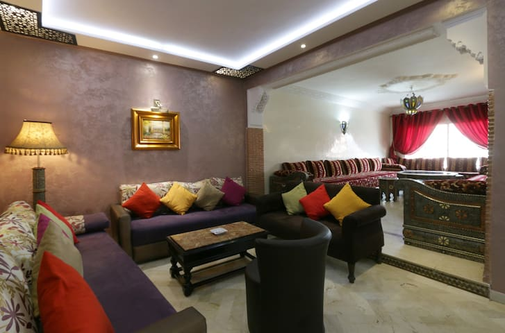 Grand appart F4 plein centre ville. - Marrakech - Apartamento