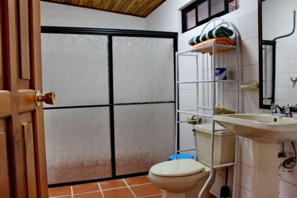 2 identical bathrooms