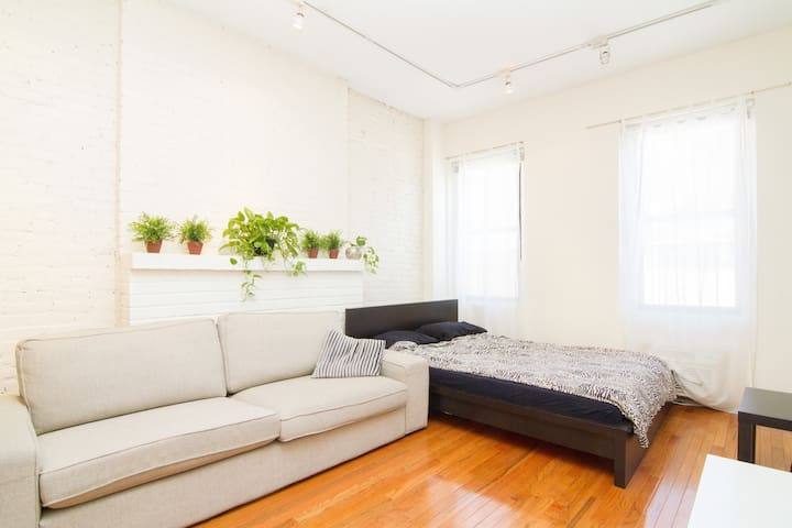 Roomy Updated Studio - East Village