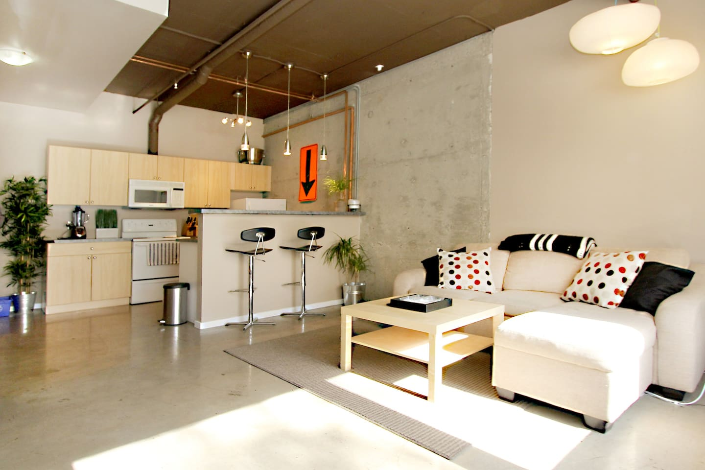Loft Apartment Centrally Located