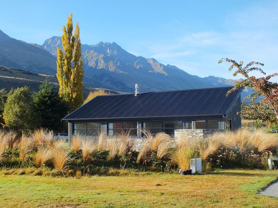 We're surrounded by mountain ranges and pure NZ air