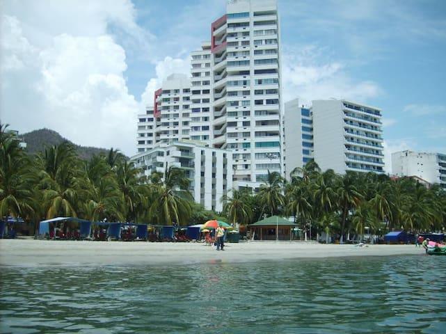 Sea view apartment, El Rodadero - Rodadero - Appartement