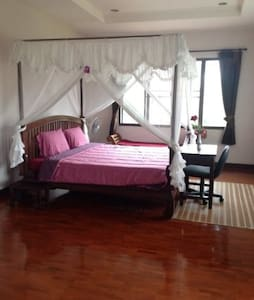 Room type: Private room Bed type: Real Bed Property type: Bed & Breakfast Accommodates: 2 Bedrooms: 1 Bathrooms: 1.5