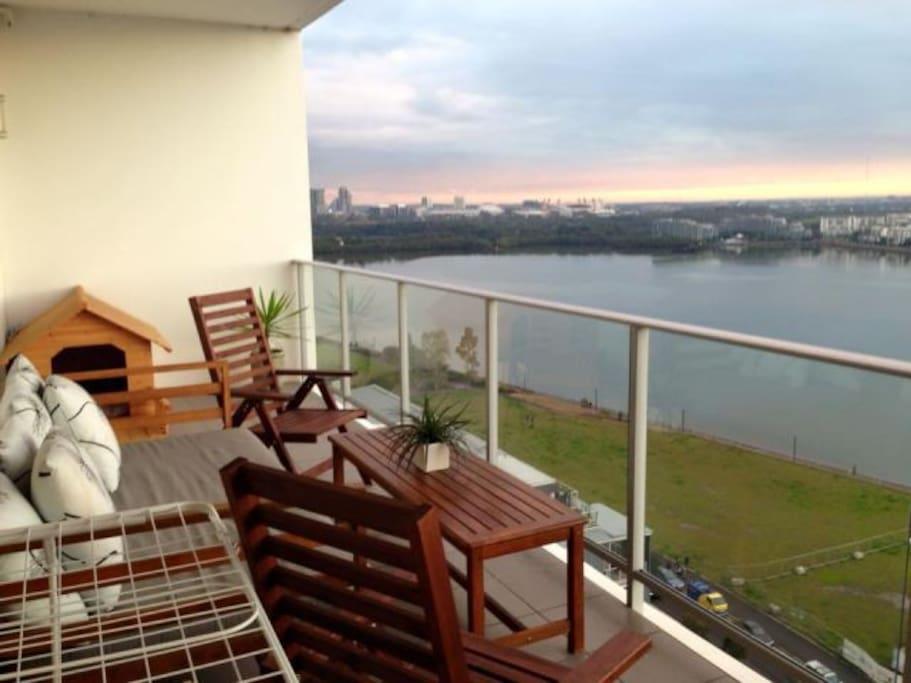 Entertaining Balcony