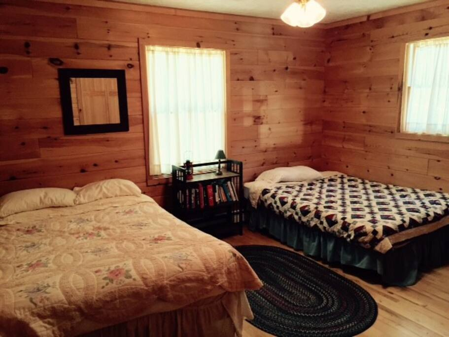 2nd Bedroom - two double beds