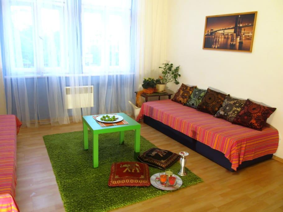 29 euro!!!-2 Bedrooms!- city center