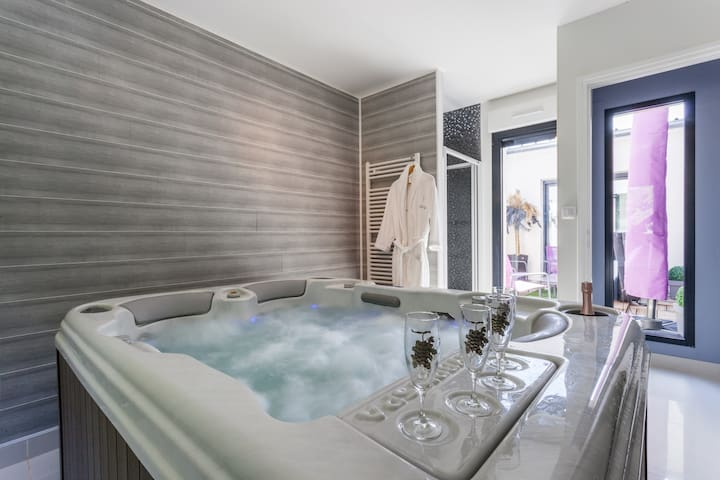 Trendy address in Champagne & Jacuzzi - Ay - Huis