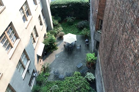 Courtyard View on Capitol Hill