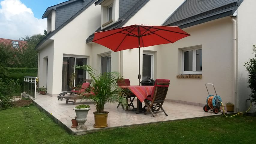 Bedroom & Lounge near Etretat - Octeville-sur-Mer - House