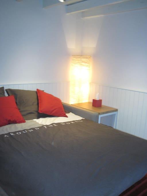 Zetel verandert naar bed in de living