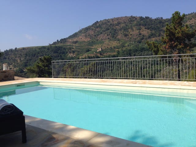 Enjoy nature in privacy with pool - Dolceacqua - Hus