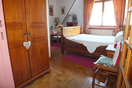 Ch d'hôte Danièle & Hervé, Myrtille - Soultzbach-les-Bains - 家庭式旅館