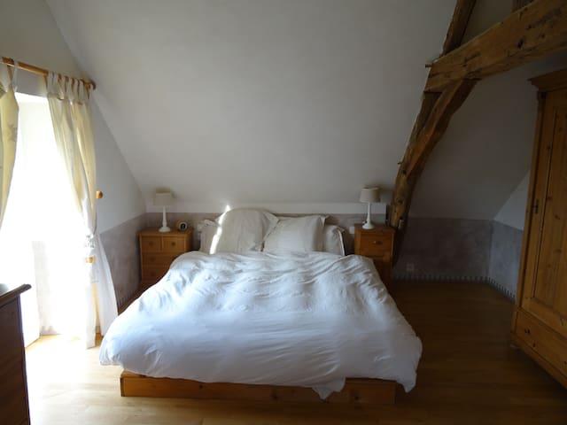 Chambre cosy dans maison de charme - Saint-Sylvain-d'Anjou - Casa