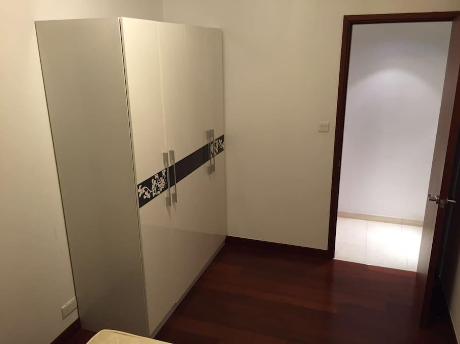 closet in master room