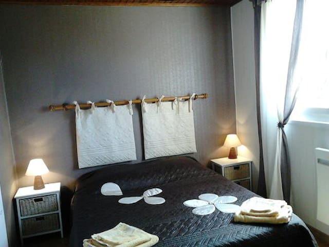 """Chambre """"Line"""" avec un lit en 140"""