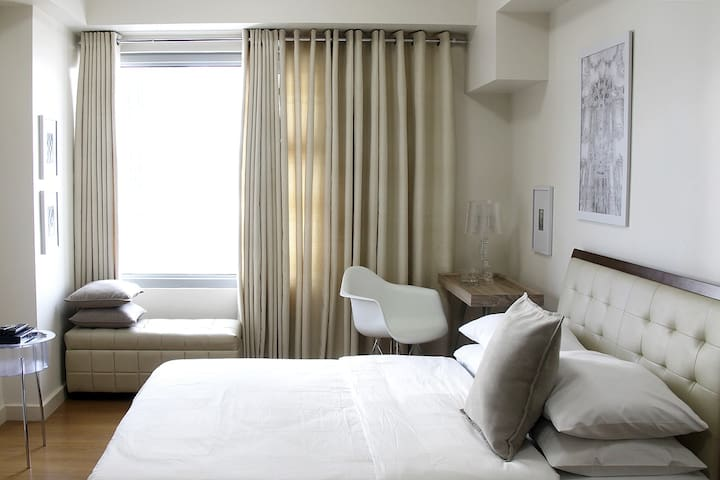 The Studio Apartment is a budget-friendly space with modern interiors. A 25 sqm area that can accommodate up to 3 Guests.