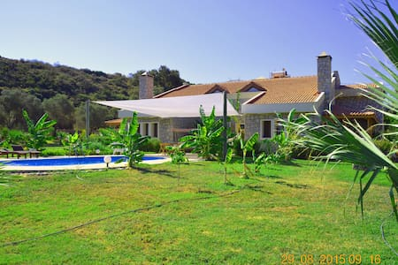 VILLA WITH A PRIVATE POOL AND LAKE! - DATÇA