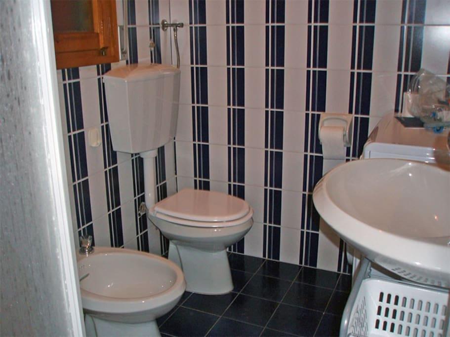 bagno privato con cabina doccia