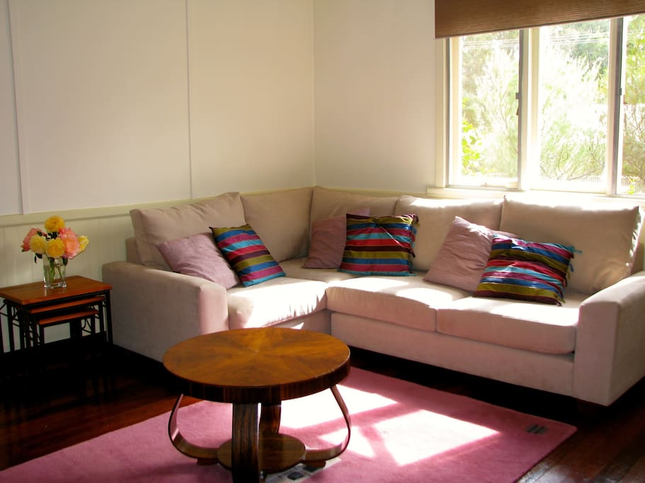 Comfortable seating in the lounge room