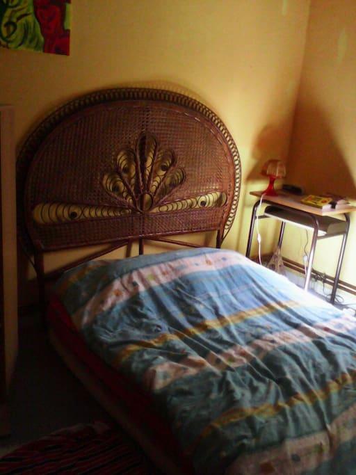 Grand lit chambre 2 places