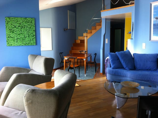 Palmeira Duplex Penthouse. Galicia. - Ribeira - Wohnung