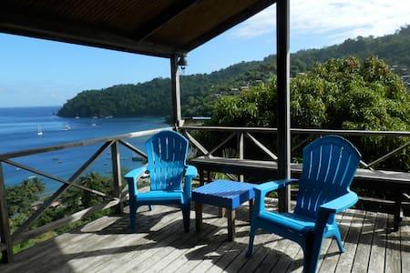Bella Vista Cottage near the beach and rain forest - Charlotteville - Rumah