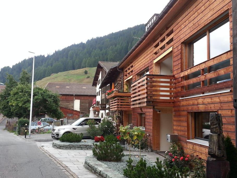 Hausansicht richtung Westen / facade when facing west