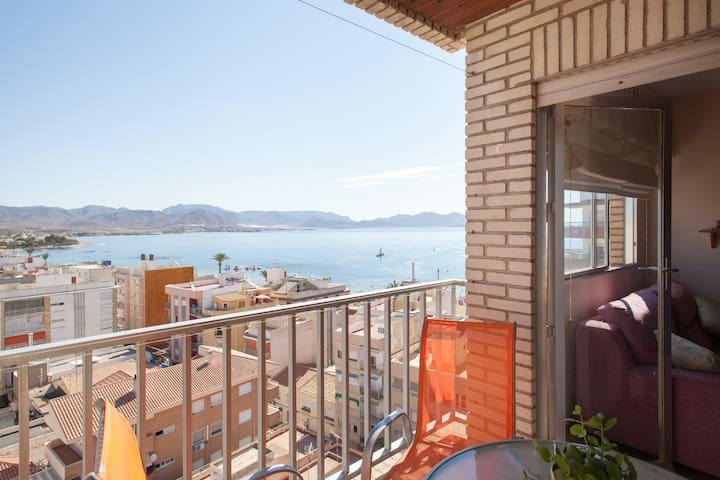 Apartamento frente al Mar - Puerto de Mazarrón