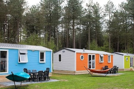 Happy Lodge Blauw op Recreatiepark 't Zand - Alphen