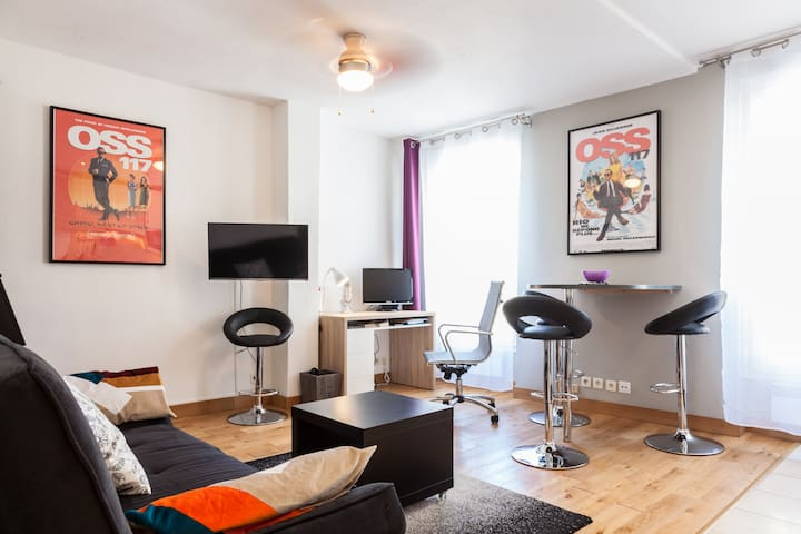 Appartement Cosy 2 pièces - Idéal - Montreuil - Wohnung