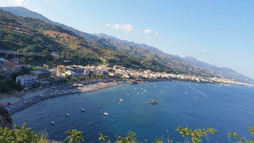 Casa di Francesca sul mare2 BOOKforJULY andSAVE10% - Sant'Alessio Siculo