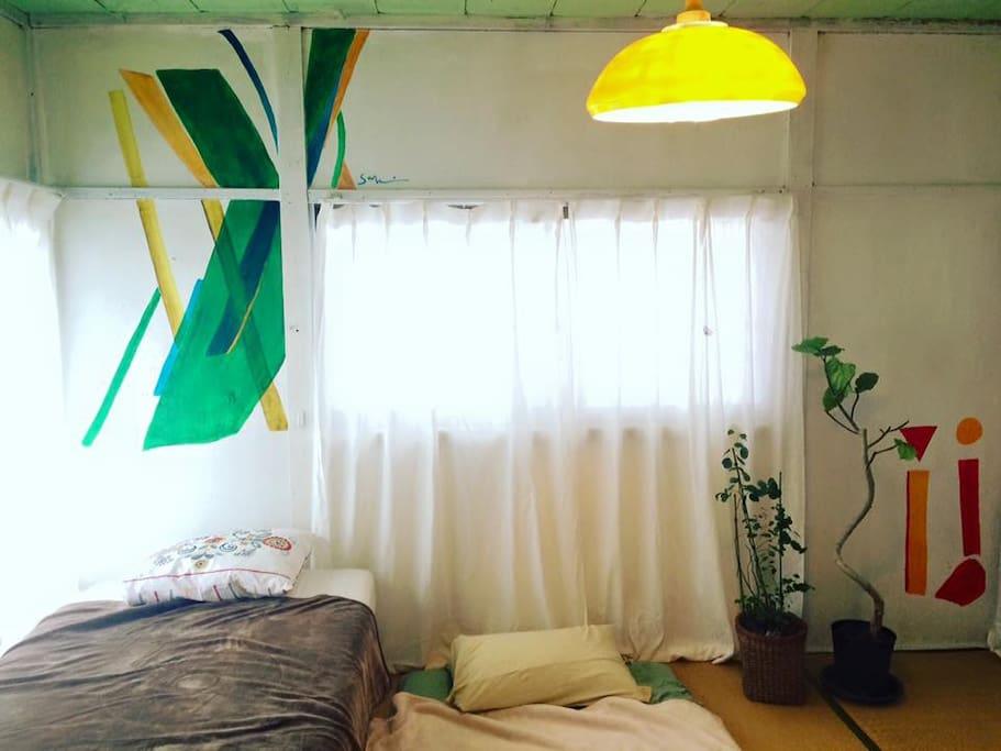 GUEST ROOM(painted saki tanaka)