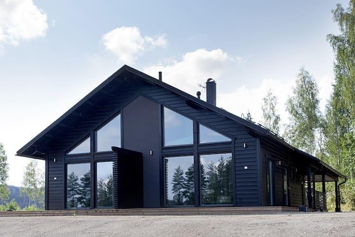 Saunallinen Himos golf-huvila - Jämsä - Appartement