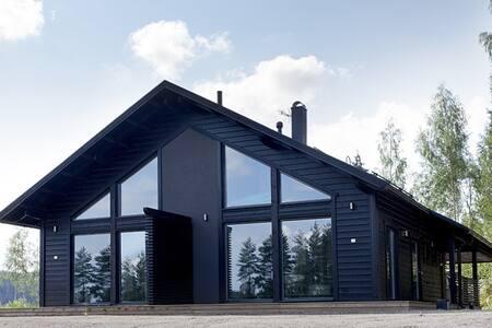 Saunallinen Himos golf-huvila - Jämsä - Apartamento