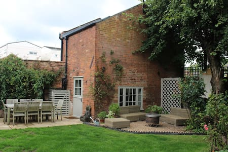 Luxury King Size Bed Coach House - Royal Leamington Spa - Townhouse