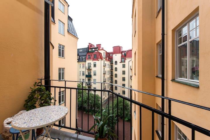 Beautiful Room on Östermalm - Stockholm - Leilighet