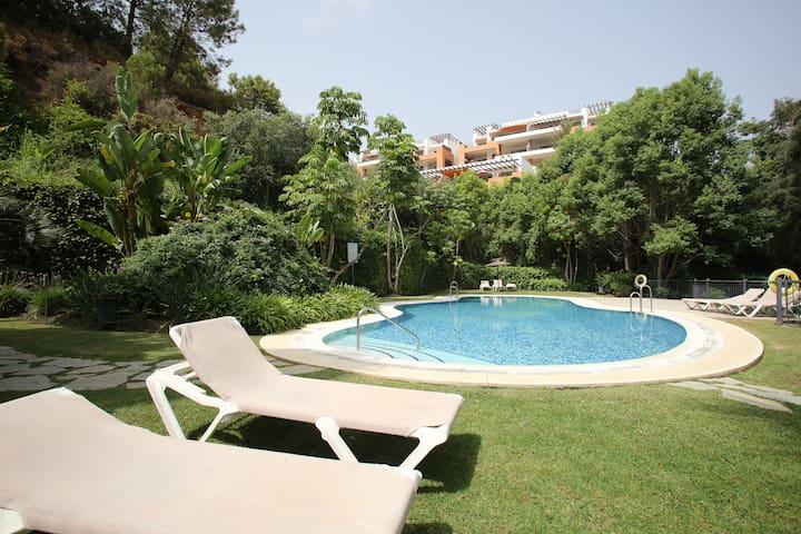 Luxury new flat with terrace Marbella golf - Marbella - Flat