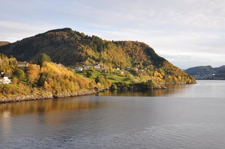 """""""Rustic room"""" by the fjords - Acu Rem Tetigisti"""