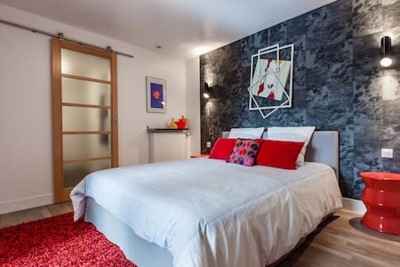 Guest room in a loft - Reims