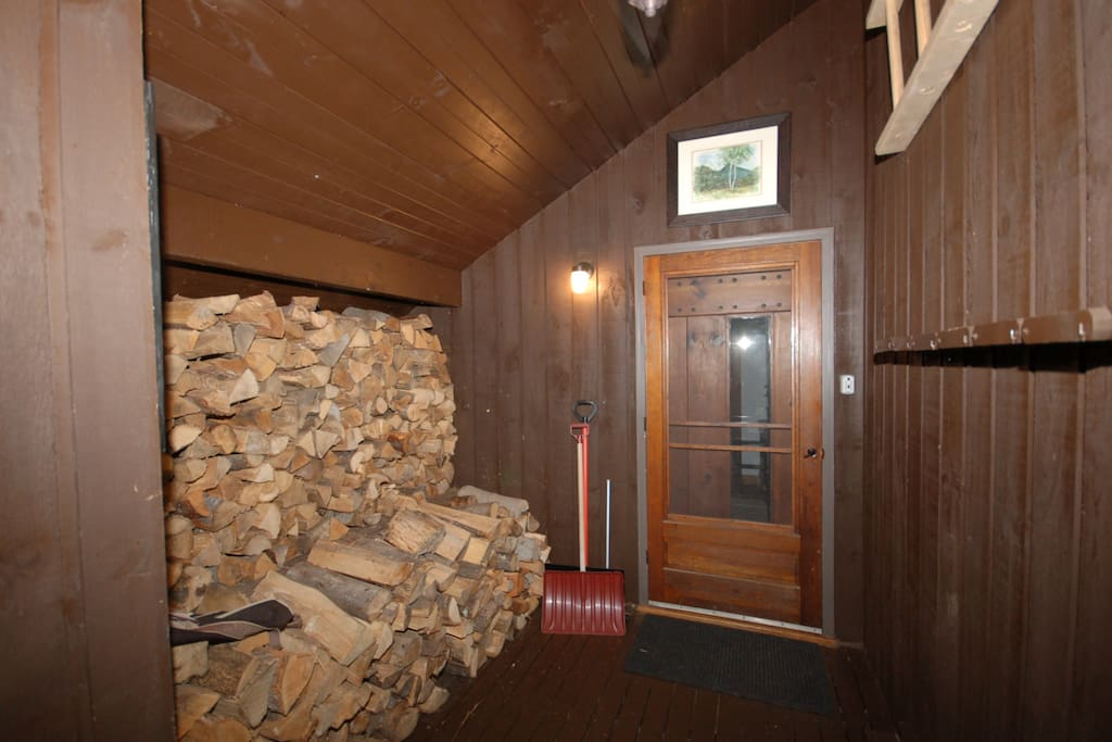 Entry mud room.