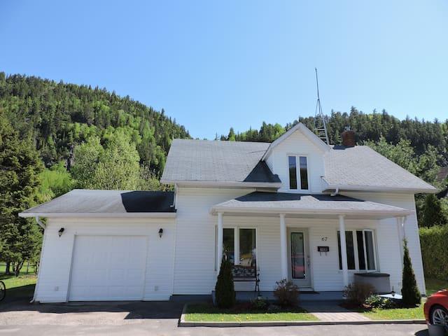 La maison d'Imelda - Petit-Saguenay - Haus