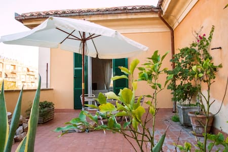 Trastevere Terrace at Porta Portese - Roma - Apartment