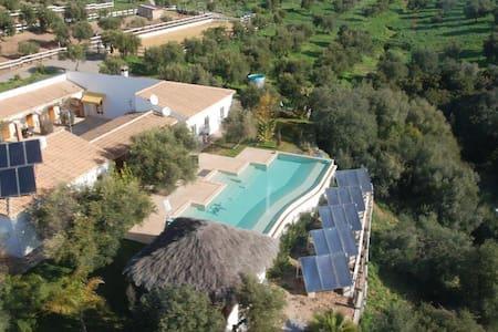 Maison écologique LAS GATERAS - Villamartín