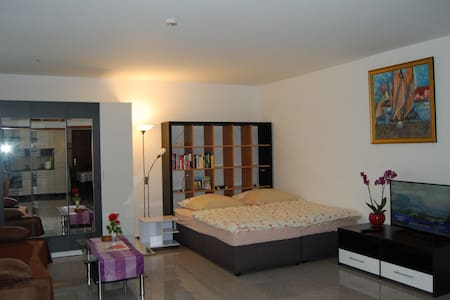 ROSE Apartment, 50 sqm + Veranda - Bad Nauheim - Apartment