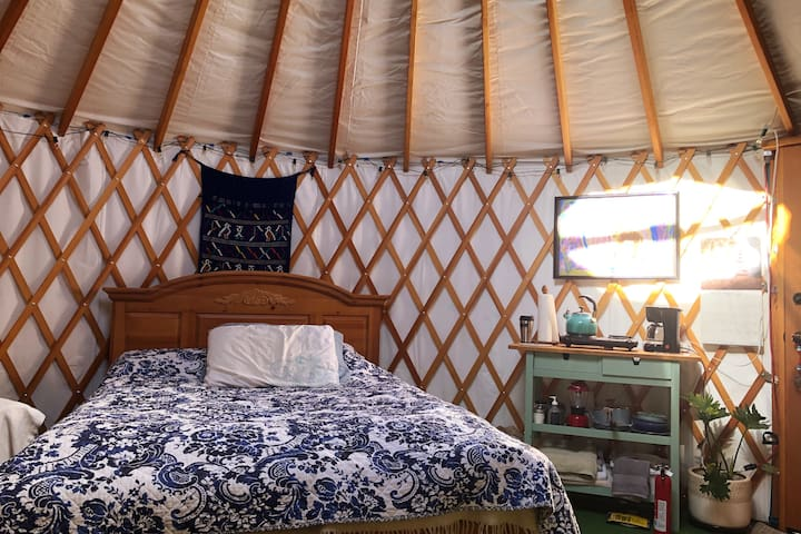 Yurt at Healing Path Farm