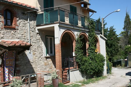 Farmhouse in little village Maremma - Caldana - House